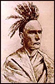 Tachnechdorus, an Iroquois leader