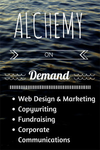 Alchemy on Demand ad