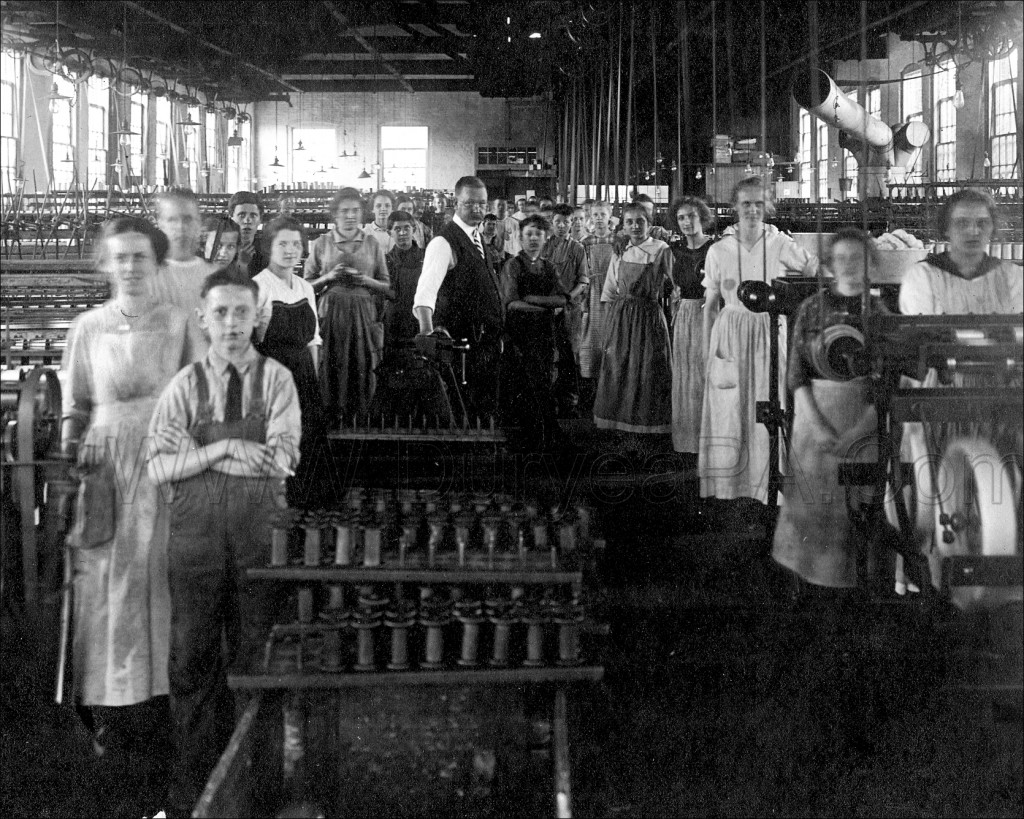 PA Duryea 1912 Silk Mill Workers