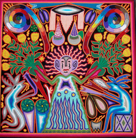 Huichol Goddess of Growing