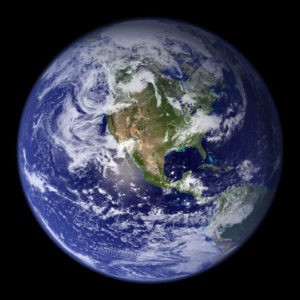 The Blue Marble, copyright NASA