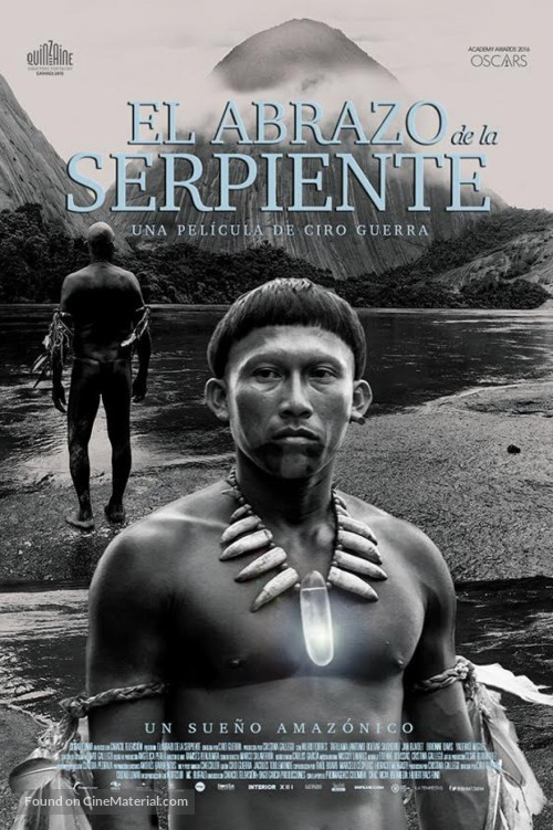 Embrace of the Serpent DVD cover