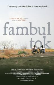 Larger Fambol Tok poster