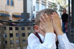 Little boy shamed
